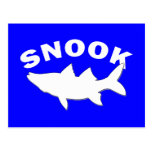 Snook Silhouette - Snook Fishing Postcard