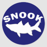Snook Silhouette - Snook Fishing Sticker