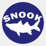 Snook Silhouette - Snook Fishing Sticker