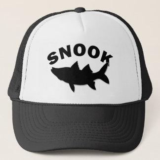 Snook Silhouette - Snook Fishing Trucker Hat