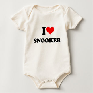 snooker baby bodysuit