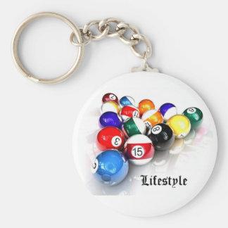 Snooker - Lifestyle Key Ring