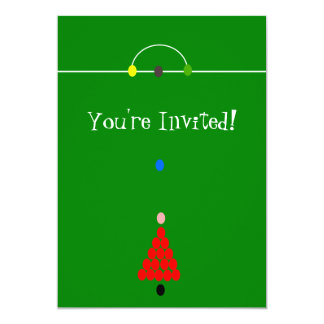 Snooker Table Any Occasion Card