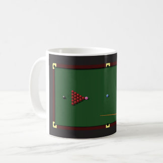 Snooker Table Mug