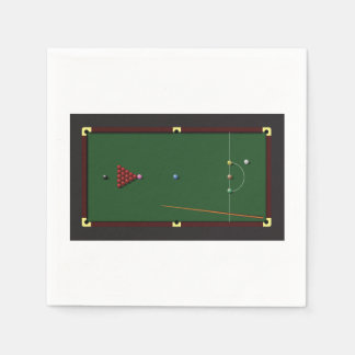Snooker Table Paper Napkins