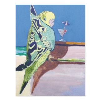 Snooky: 'At the bar' Postcard