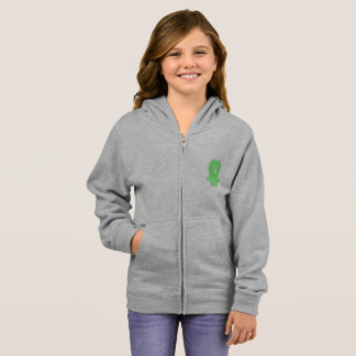 Snoomies Girl's Basic Zip Hoodie