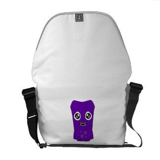 Snoomies Medium Messenger Bag Outside Print