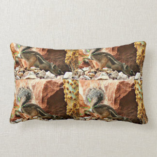 Snooping Mikey Ground Squirrel Poly Pillow