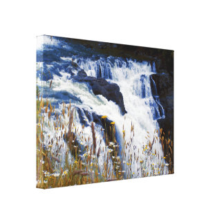Snoqualmie Falls Closeup Canvas Print