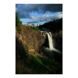 Snoqualmie Falls, Washington, USA Poster