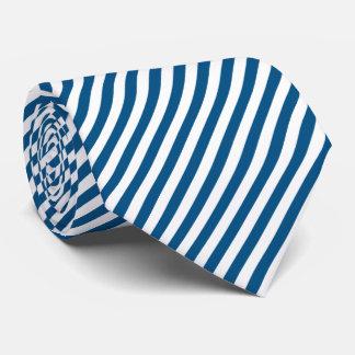 Snorkel Blue Diagonal Stripe Tie