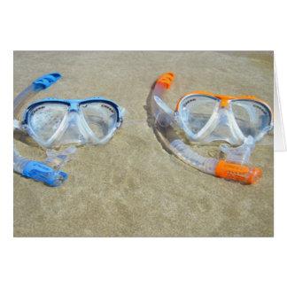 Snorkeling Pair Card