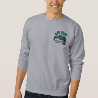 Snorkeling with manatees sweatshirt