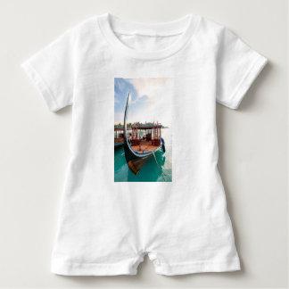 Snorkelling Boat Baby Bodysuit