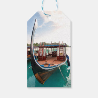 Snorkelling Boat Gift Tags