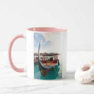 Snorkelling Boat Mug