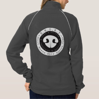 Snort Black Logo Jacket 2016