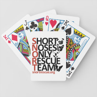 SNORT Vertical Playing Cards