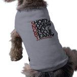 SNORT Vertical  Pup Shirt Sleeveless Dog Shirt