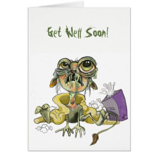 Snot Goblin Get Well Card