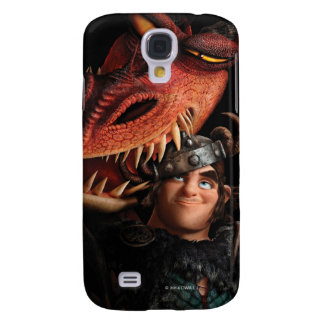 Snotlout & Hookfang Galaxy S4 Cases