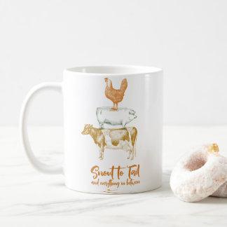 Snout to Tail mug