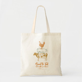 Snout to Tail Tote Bag
