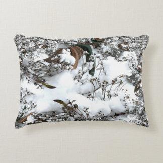 Snow Abstract Decorative Cushion
