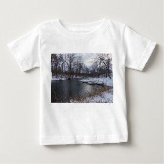 Snow Along James River Baby T-Shirt