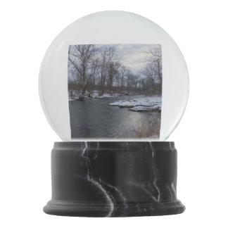 Snow Along James River Snow Globes