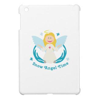 Snow Angel Time iPad Mini Cases