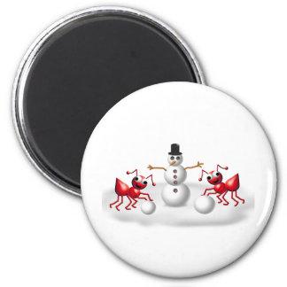 snow ants magnet