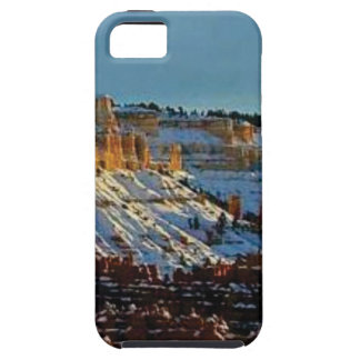 snow at bryce tough iPhone 5 case