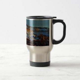 snow at bryce travel mug