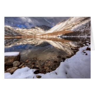 Snow at North Lake, California Card