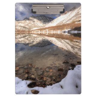 Snow at North Lake, California Clipboard