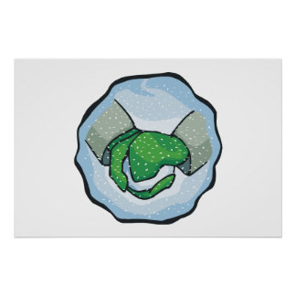 Snow Ball Print