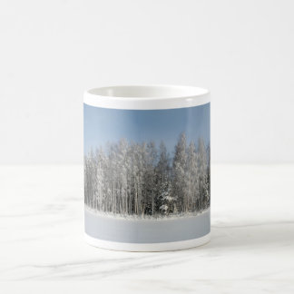 Snow Beach Coffee Mugs