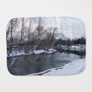 Snow Beauty James River Burp Cloth