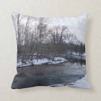 Snow Beauty James River Cushion