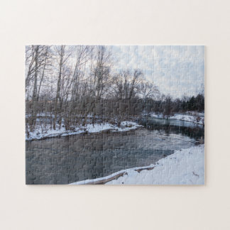 Snow Beauty James River Jigsaw Puzzle