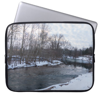 Snow Beauty James River Laptop Sleeve