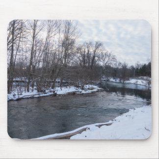 Snow Beauty James River Mouse Pad