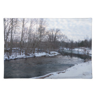 Snow Beauty James River Placemat