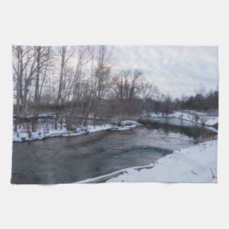 Snow Beauty James River Tea Towel