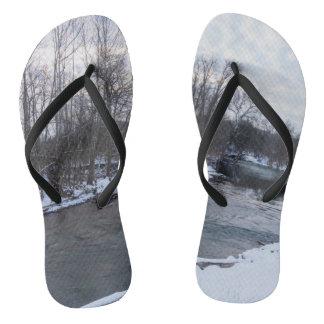Snow Beauty James River Thongs