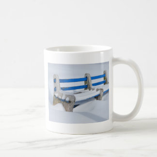 Snow Bench Coffee Mug