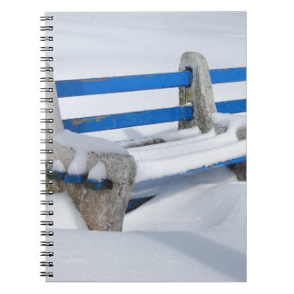 Snow Bench Notebook