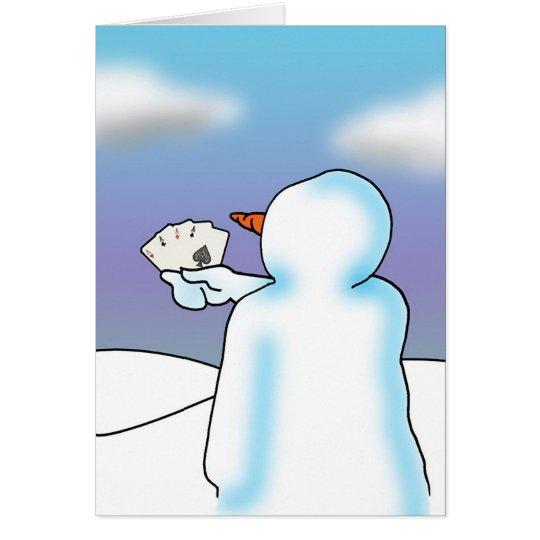 Snow Big Deal Card